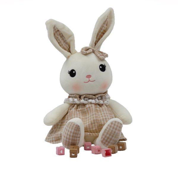 Bunny Yoka Doll With Dress & Cute Bow